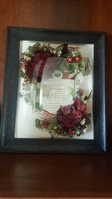 Wedding Bouquet Preservation? 3