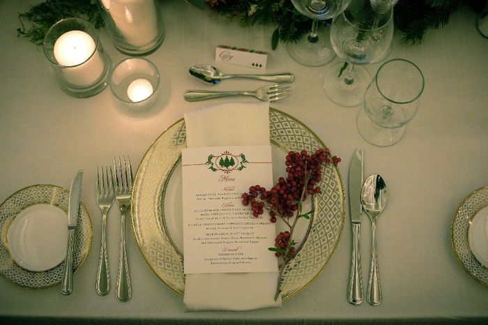 Place cards, escort cards, or seating chart? 5