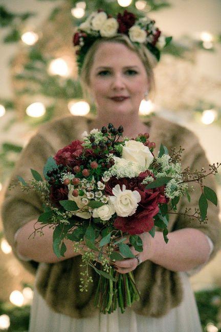 Which Winter Wedding Bouquet? 9