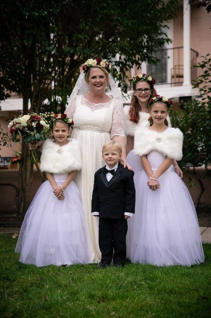 Flower girls and Ring bearers 1