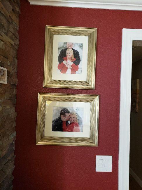 Displaying wedding photos 3