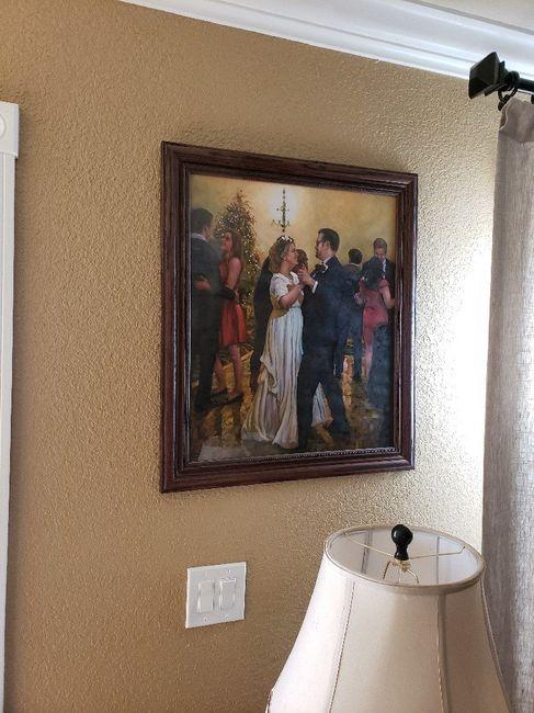 Displaying wedding photos 4