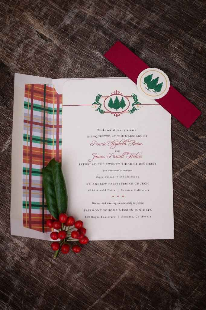 How to word invitations with separate places? - 1