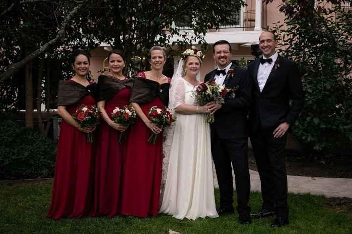Uneven bridal party - 1
