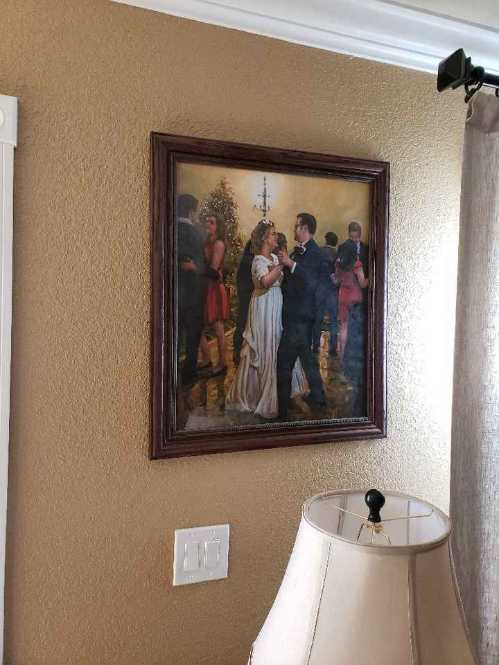 Displaying wedding photos - 4