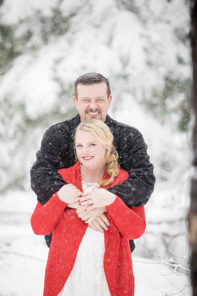 Cold day for Engagement Photos - 2