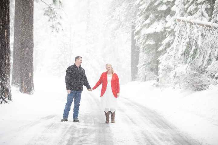 Cold day for Engagement Photos - 3