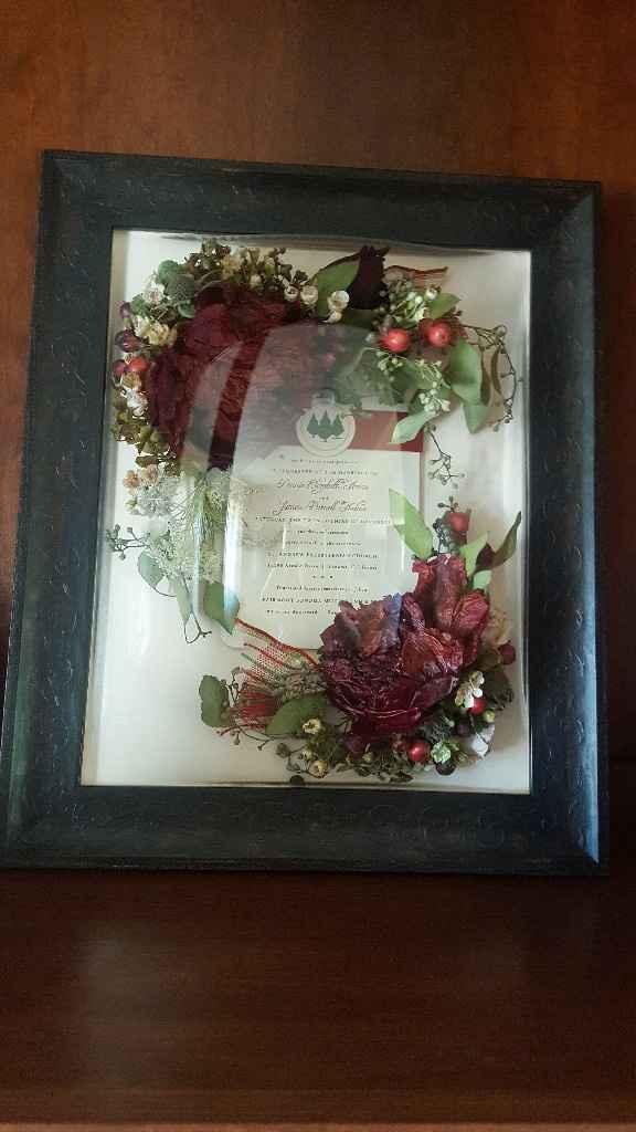Preserving your bouquet? - 1