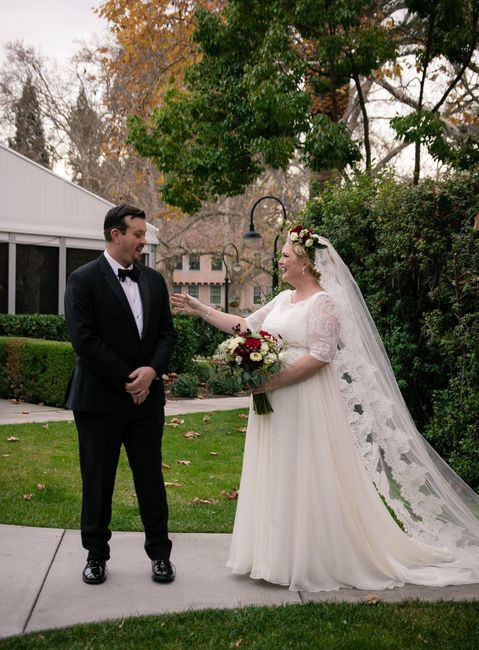 Earias' Pro BAM: a Christmas Wedding in Sonoma (Pic and Advice Heavy - VENDORS AND COST BREAKDOWN IN COMMENTS) 24