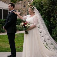 Cathedral length veil - 1