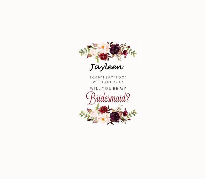 c958352b58db Bridesmaid/MOH proposal | Weddings, Do It Yourself | Wedding Forums ...