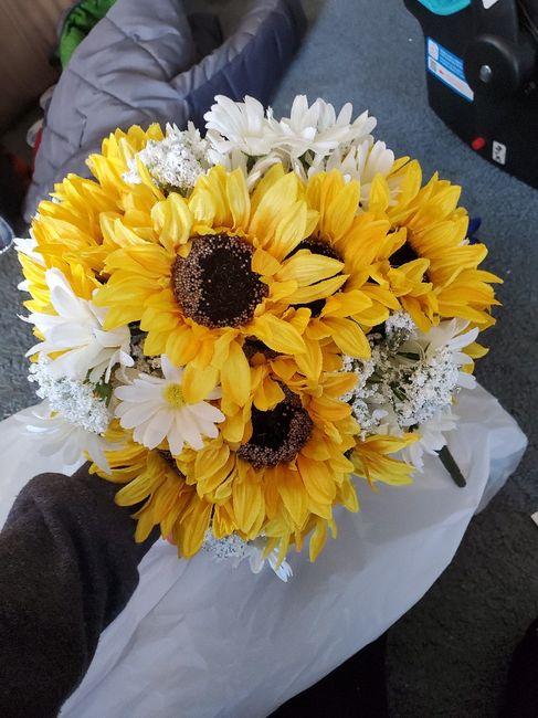 Sunflowers Bouquet 1