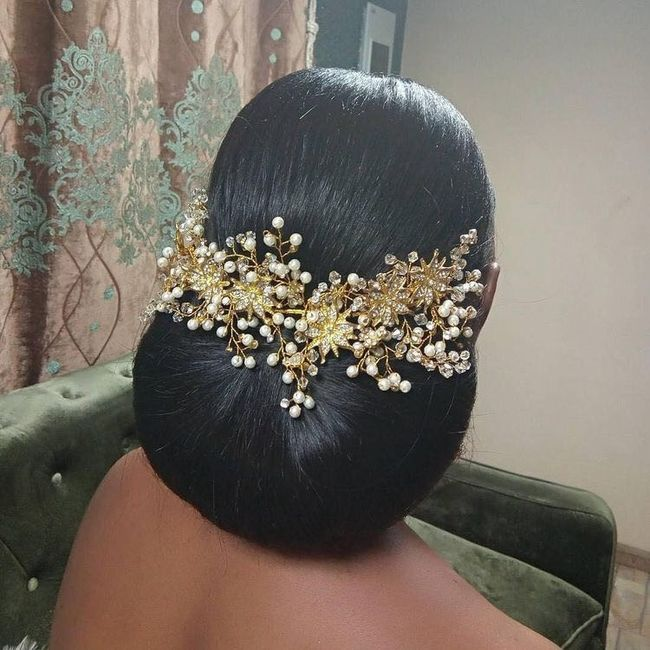Natural Hair Brides...what are you doing with your hair?? 2