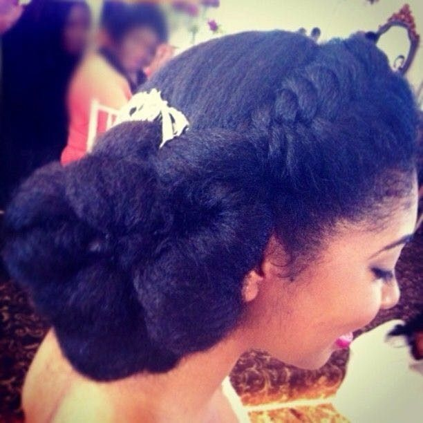 Natural Hair Brides...what are you doing with your hair?? 4
