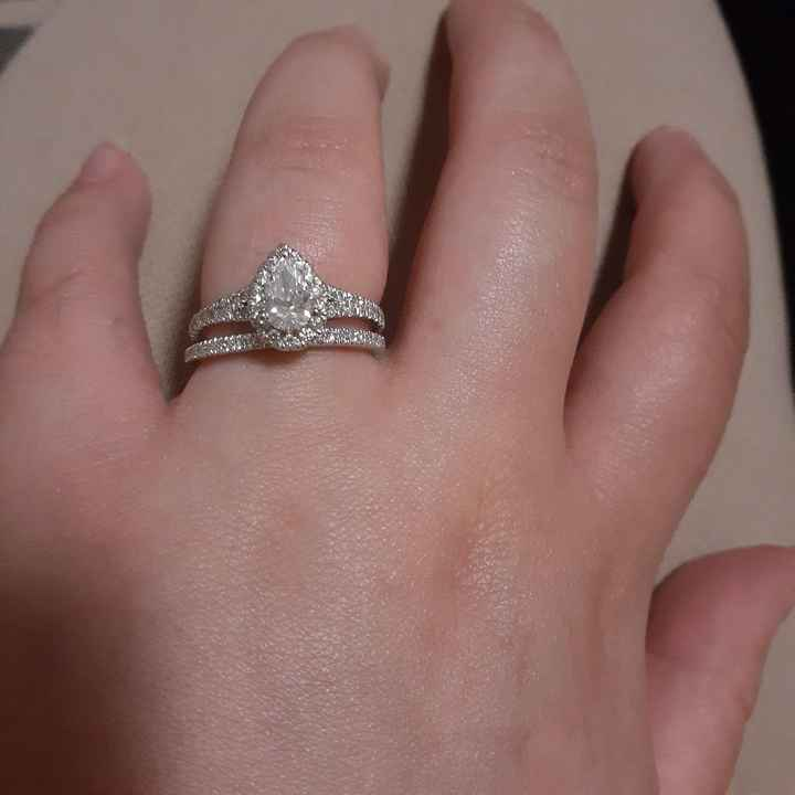 Show me your wedding ring set 5