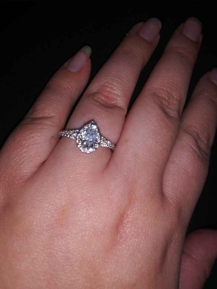 i want to see your engagement rings! 10