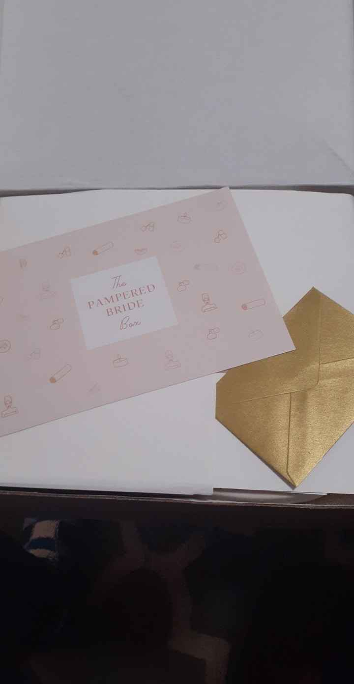 Pampered bride box from Something New Bridal Box 4