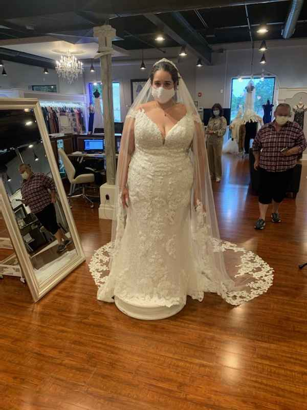 Nervous about picking up my dress friday - 1