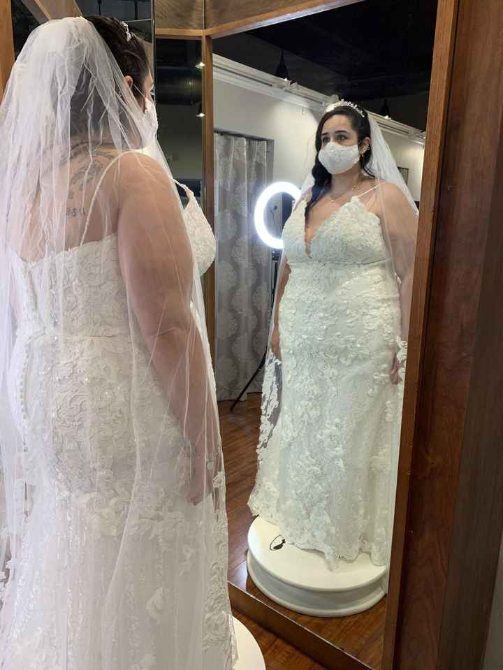Picked up my dress!!! - 3