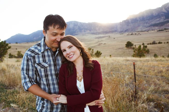Where are you taking your engagement pictures? 13