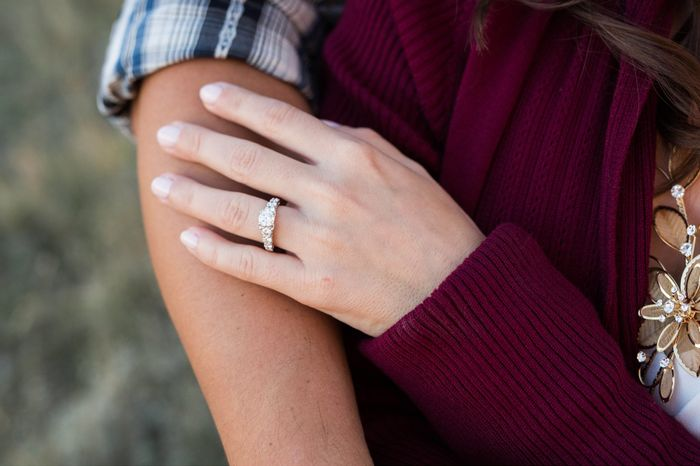 Show me your engagement ring! 1