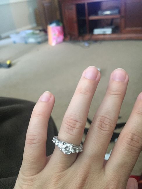 Adding side stones to engagement ring 3