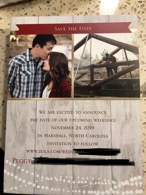 Advice about save-the-dates and invitations 2