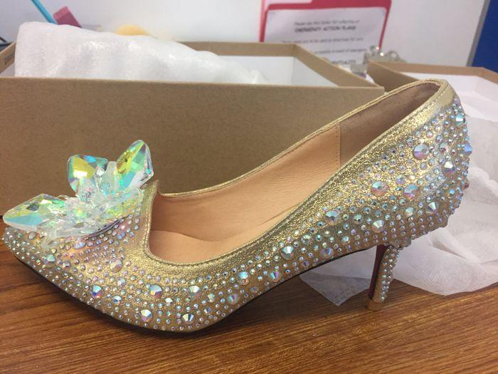 Petite brides - show me your shoes. 2