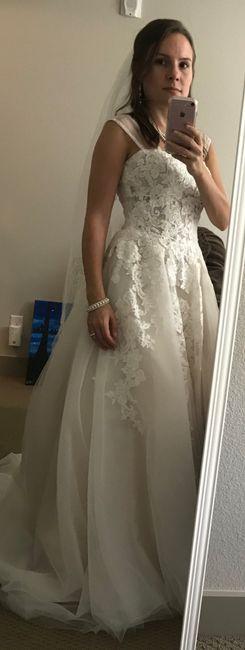 Wedding Dress Strap Assistance! - 1