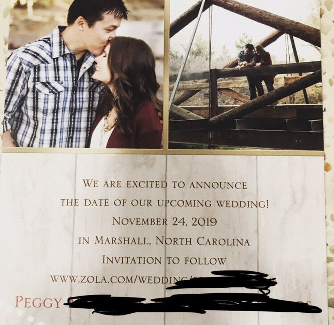 Show me your Save the Dates! - 1