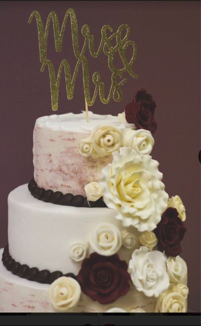 Do couples still use figurine cake toppers? 10