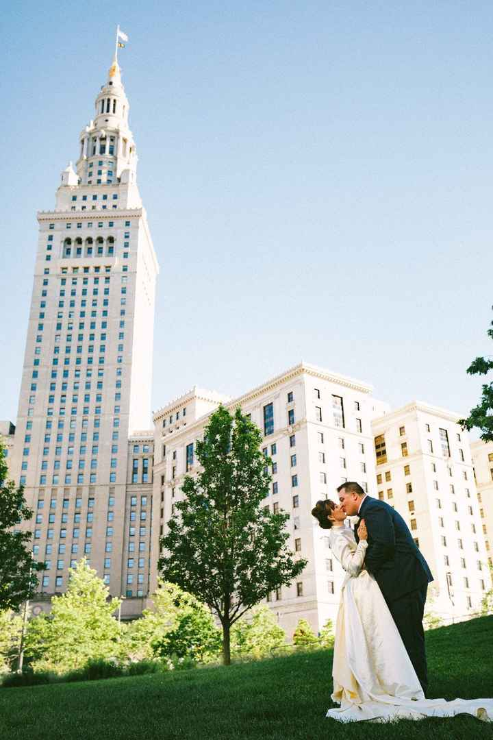 Cleveland has great architecture for weddings