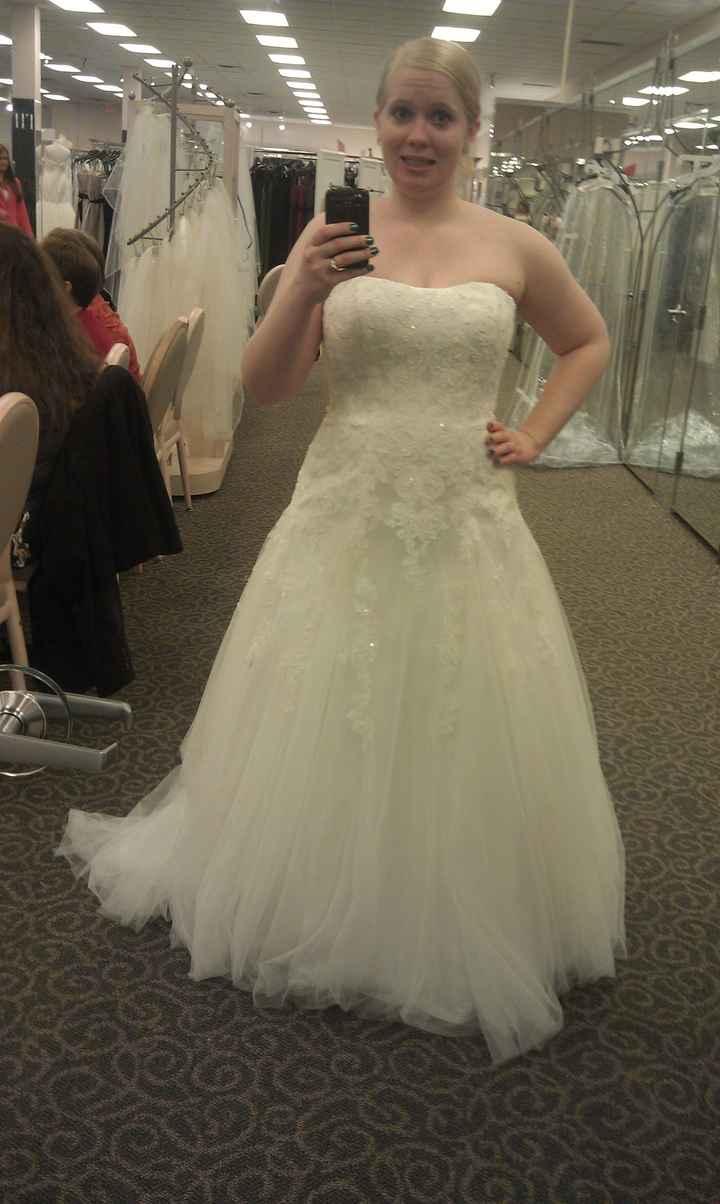 "Hey Ladies, Show us ""The Dress""!"