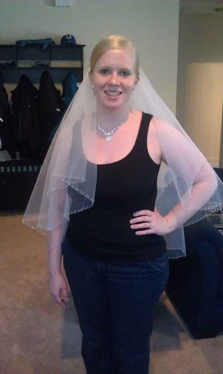 Where did you get your veil?