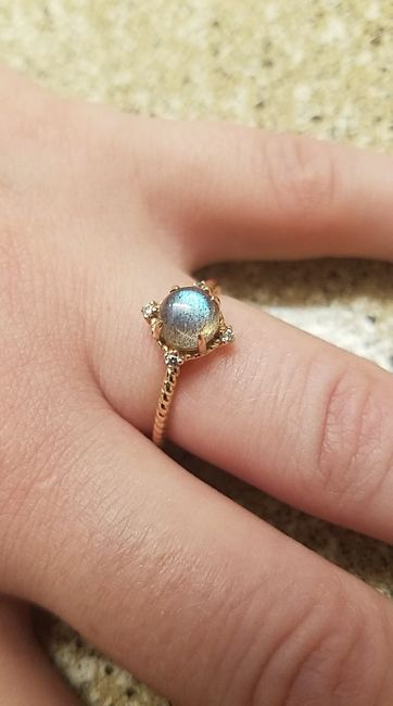 Who else has gemstones in their ring(s)?  Let's see them! 6