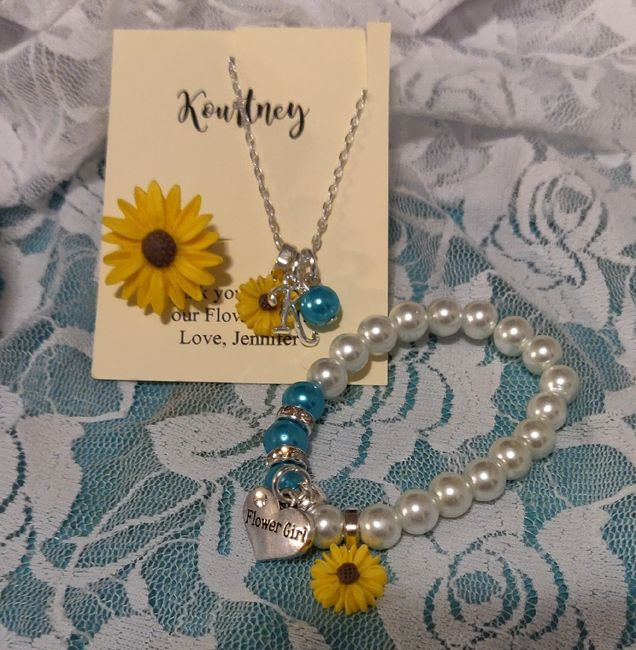 Flower girl jewelry 2