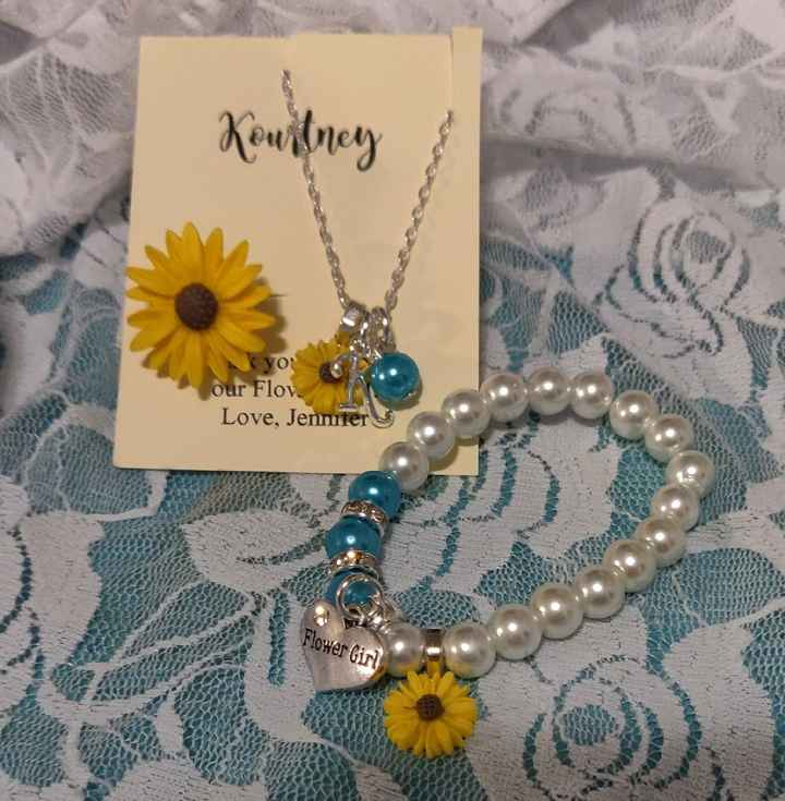 Flower girl jewelry - 1