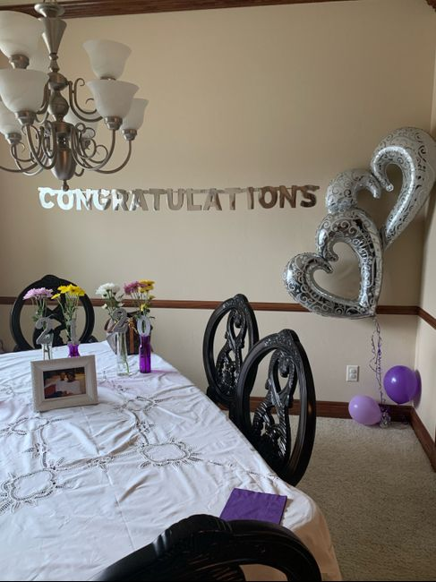 My bridal shower was yesterday 🥺💍 Heavy Pictures 2