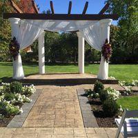Wedding arbor decorations - 1