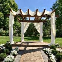 Wedding arbor decorations - 2