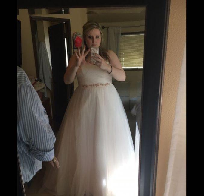 Show me your David's Bridal Dresses 8