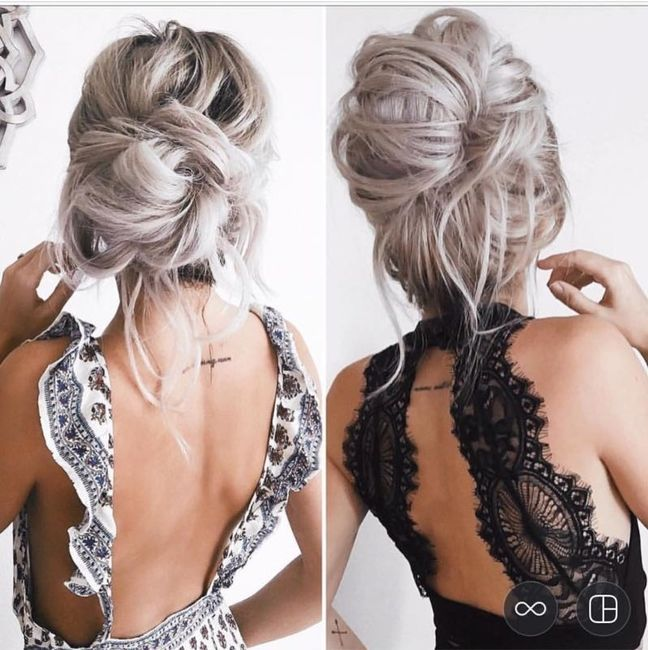 Let me see your wedding hair!
