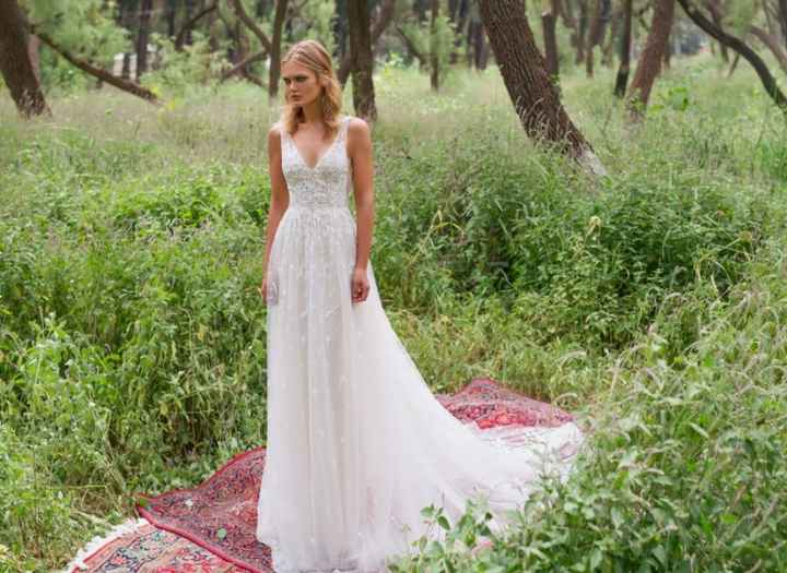 Aria Gown by Limor Rosen - Birds of Paradise Collection