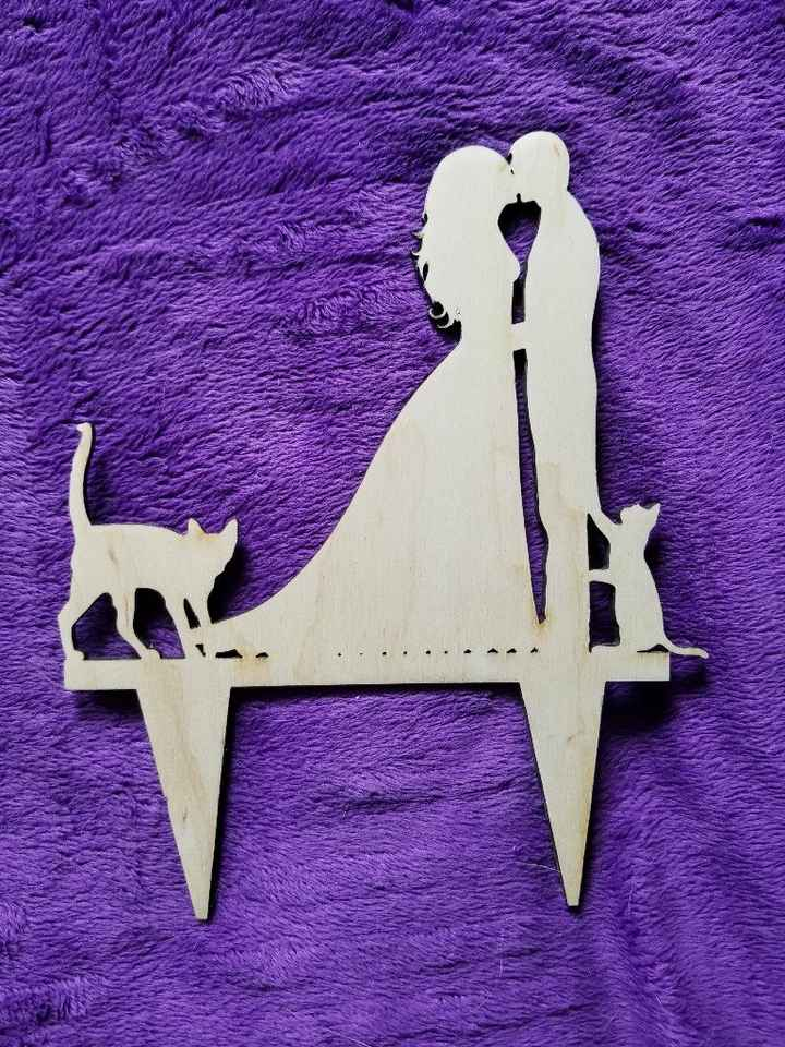 What cake topper did you pick? - 1