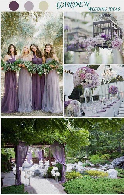 Planning Milestones - Picking your wedding colors! 1