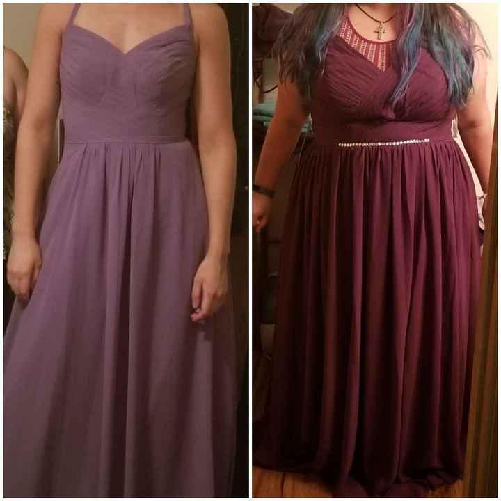 Bridesmaid dresses from Azazie - 1
