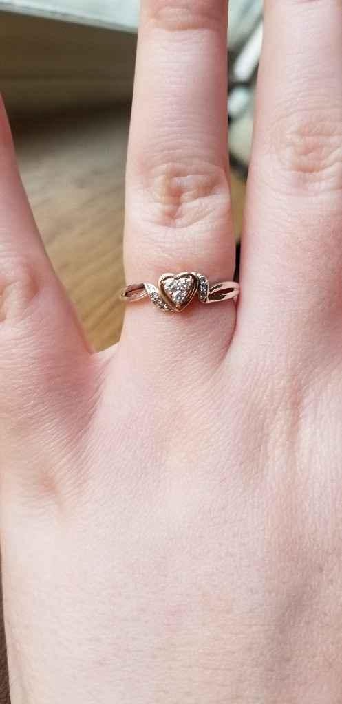 🗣 Rose Gold Rings - 1