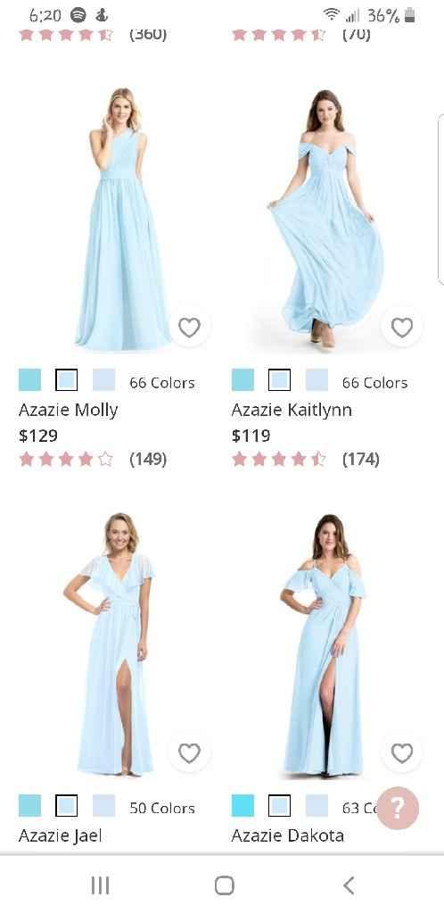 Bridesmaid Dress - 2