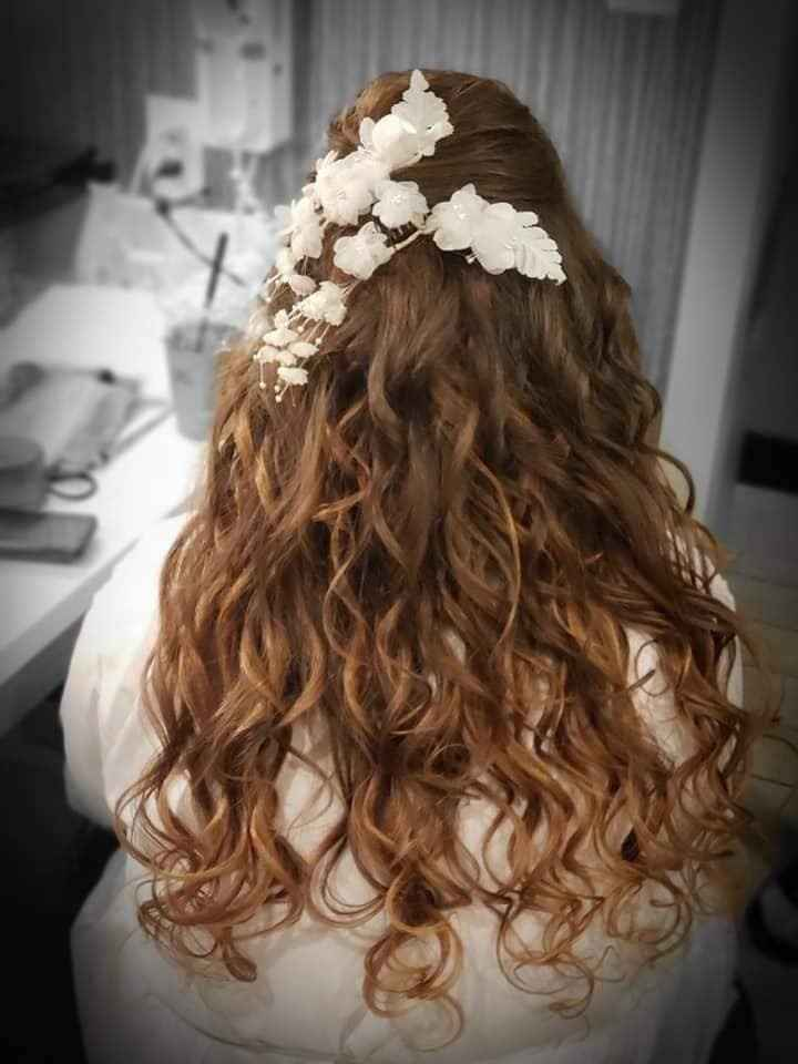 Having your hair done for your special day without a trial run? - 1