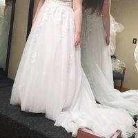 Inspiration dresses vs. Real dress - 1